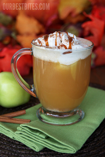 Apple Cider Floats - 24/7 Moms