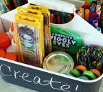 DIY MOMS – Organized Homework Supply Holder