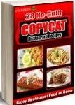 FREEbie: 28 No-Guilt Copycat Restaurant Recipe eCookbook