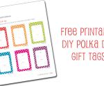 FREE Polka Dot Gift Tags
