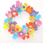 DIY Easter Egg Carton Wreath