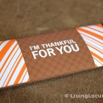 Thankful Thanksgiving Candy Bar Wrappers