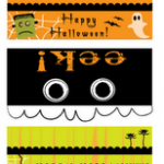 FREE – Halloween Printables -Bag Toppers, Cupckae Picks and more