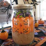 Halloween S'mores In A Jar