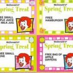 $1 Spring Coupons At Mc Donalds