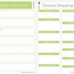 Meal Planning With Free Printable