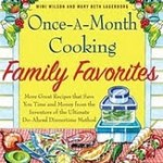 WIN- Once A Month Cooking Family Favorites