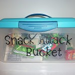 DIY MOMS- SNACK ATTACK Bucket