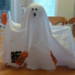 Table Top Ghost For Halloween
