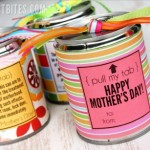 Mothers Day Gift In A Tin Can