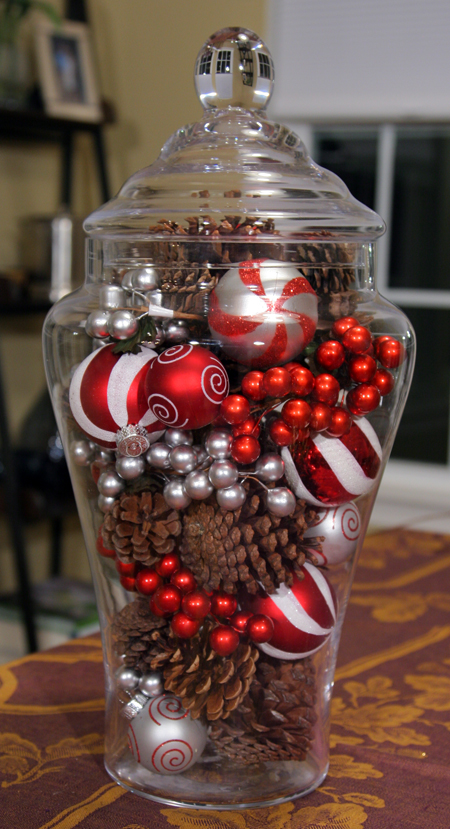 Simple christmas centerpieces moms