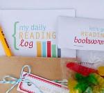 Freebie – Reading Treat bag and Log