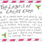 photograph relating to The Story of the Candy Cane Printable titled Legend Of The Sweet Cane - Absolutely free Printables - 24/7 Mothers