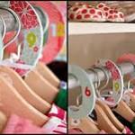 DIY Moms Closet Dividers