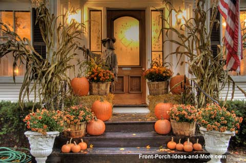 Good Fall Porch Decorating 247 Moms