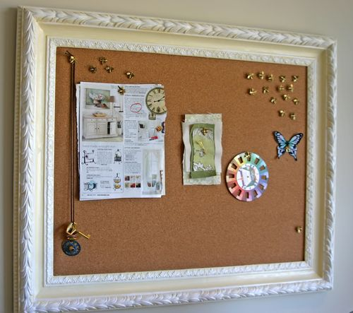 Diy Moms Framed Bulletin Board 24 7 Moms