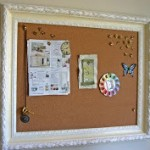 DIY Moms- Framed Bulletin Board