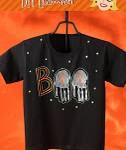 DIY Kids – BOO T-shirt for Halloween