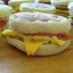 Freezer Egg Muffin Sandwich