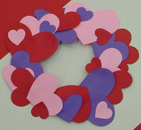 Valentine's Day color Construction Paper Paper Plate
