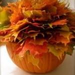 Easy Elegant Pumpkin Centerpieces