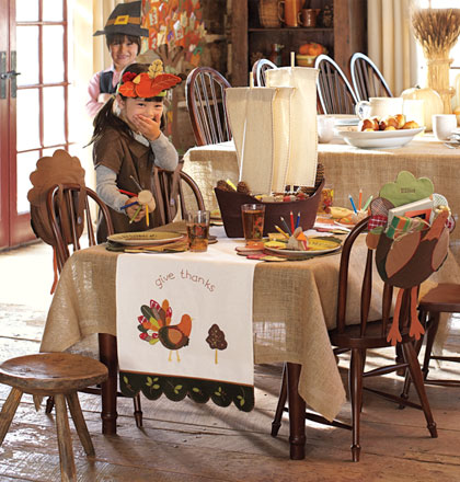 Fun Kids Thanksgiving Table Ideas & Fun Kids Thanksgiving Table Ideas - 24/7 Moms