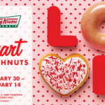 Krispy Kreme Valentine Freebies with Purchase