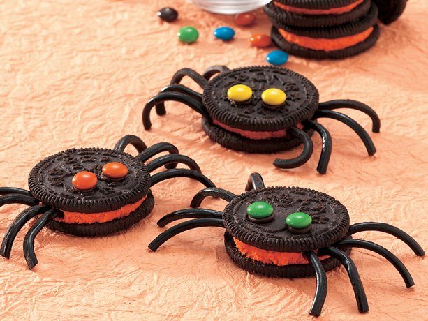 4 Edible Spider Treats For Halloween 247 Moms