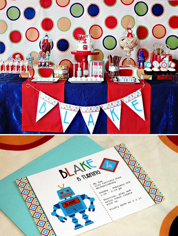 FREE Boy Theme Birthday Party Printables 247 Moms
