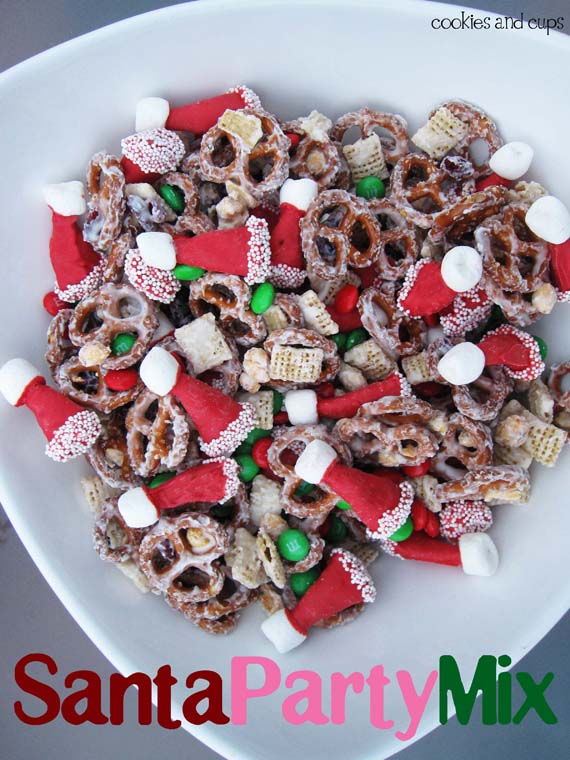 Christmas mix recipes to give as gifts