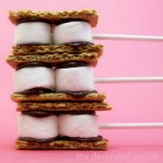S'Mores On A Stick – Summer Bucket List Fun