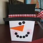 DIY Snowman Gift Boxes