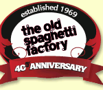 Deal of the Day – The Old Spaghetti Factory