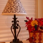 DIY MOMS- Personalized Handwritten Lamp Shade