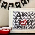 Free Love Story Printable
