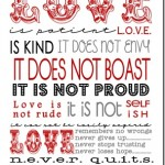 FREE Love Is……Printable For Framing