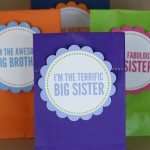Free Big Sister, Big Brother Printables