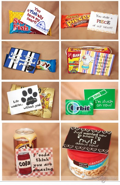 Cute food sayings for valentines day 24 7 moms for Cute small gifts for friends