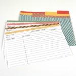 FREE Recipe Card Printable