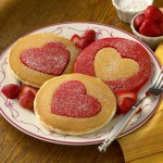 Perfect Heart-Shaped Pancakes for Valentine's Day