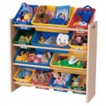 Organize Kids Bedroom Toys in Six Steps