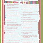 30 Day Mom Challenge – Free Printable