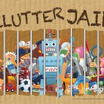 Free Clutter Jail Printable