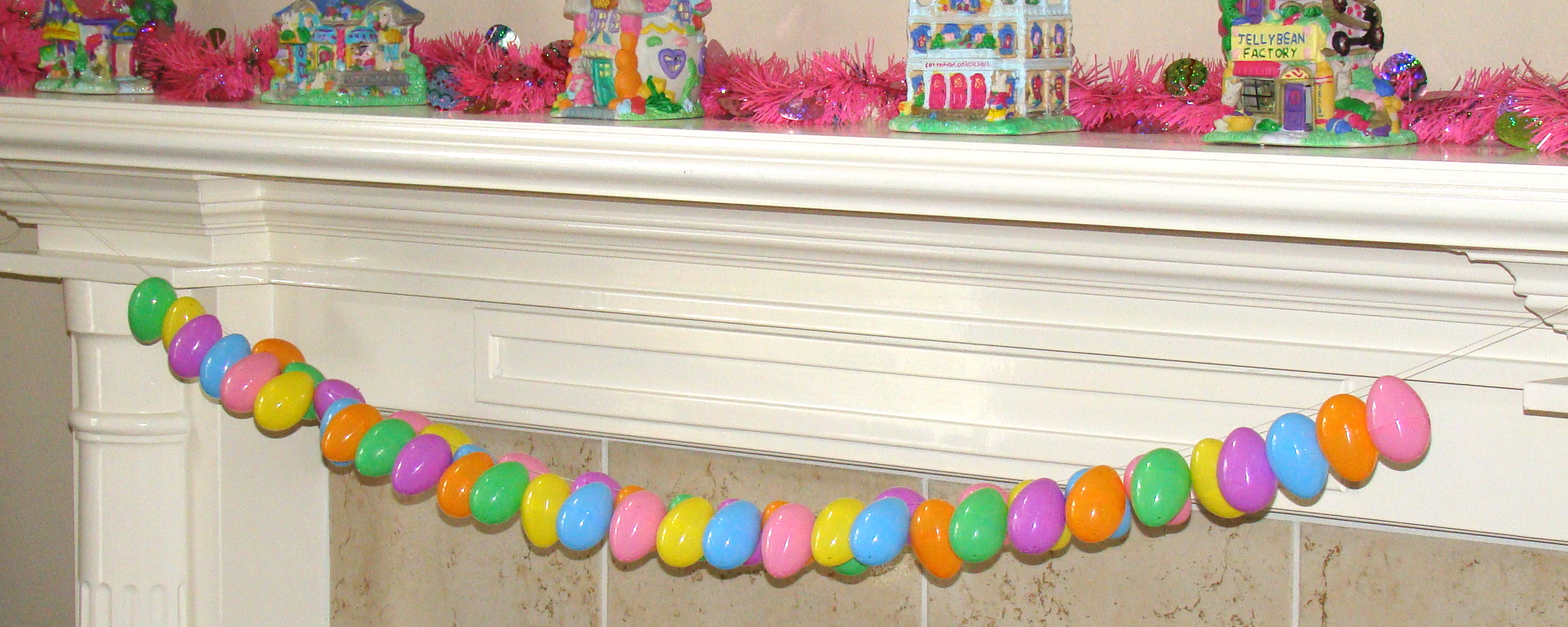 Diy easter decorations from my home to yours 24 7 moms for How to make easter decorations for the home