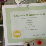 Free Certificate Of Awesomeness