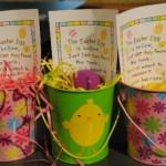 Easter Party Favor – Empty Egg Pails
