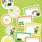 Free St. Patrick's Day Labels and Stickers
