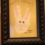 A Bunny Handprint Keepsake