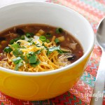 Enchilada Soup In The Crock Pot