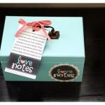 DIY Love Note Box